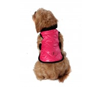 Chewnel Dog Coat Super Lightweight in Hot Pink